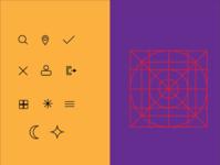 icon design ui vector illustration ai icon set