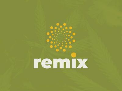 Remix CBD branding concept