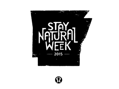 Lululemon Stay Natural Week