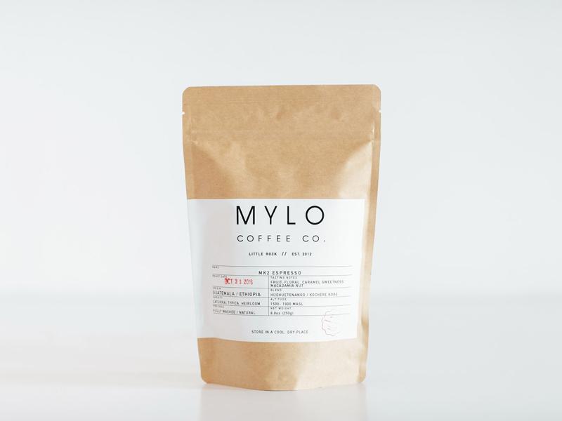 Mylo Coffee Packaging pt.2 print design package design print layout design typography coffee
