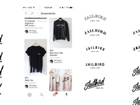 Jailbird Tshirt