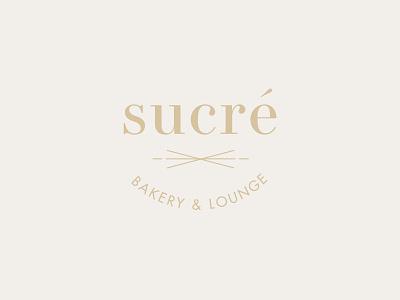 Sucré Logo sketchapp lounge bakery logo identity brand