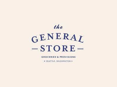 General Store Logo sketchapp typography logo identity brand