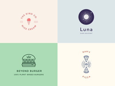 2018 in review food plant based vegan identity branding illustration identity brand