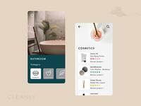 Cleanly App Concept
