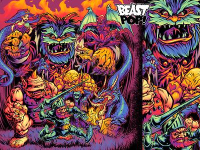GHOSTS 'N' GOBLINS final colors video games nintendo digital colors digital inkink nes capcom dungeons  dragons monsters arcade
