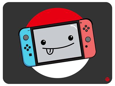 This is Nintendo kawaii art kawaii illustraion design flat illustration illustration flat  design flatdesign nintendo switch nintendoswitch nintendo