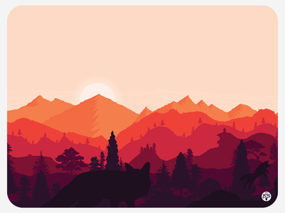 Landscape (pt 3) - Sunset