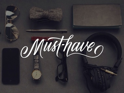 Must-Have th m typography script brush lettering hand lettering lettering