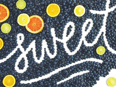 Washington Post Local Living Cover hand lettering lettering blueberries citrus food typography food lettering grapefruit lime lemon food sweet washington post