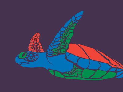 Green Turtle turtle green turtle wild life illustration racing extinction