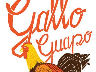 El Original Gallo rooster gallo restaurant branding