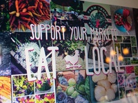 Eat local banner