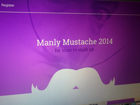 Manly Mustache Site