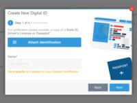 Digital ID Modal