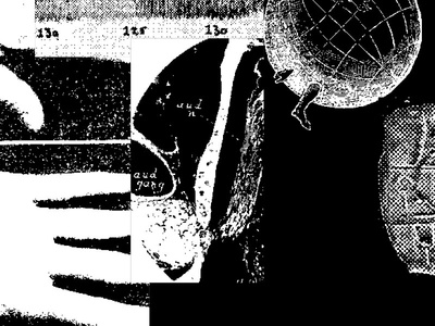 der Takt monochrome black and white collage public domain