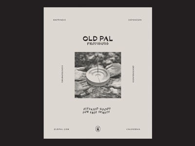 Old Pal Autre Ad workbyland oldpal cannabis design cannabis branding typography print ad advertising branding graphic design