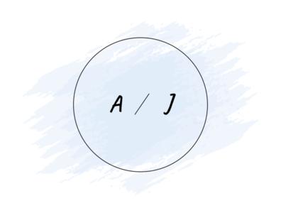 The A/J Logo