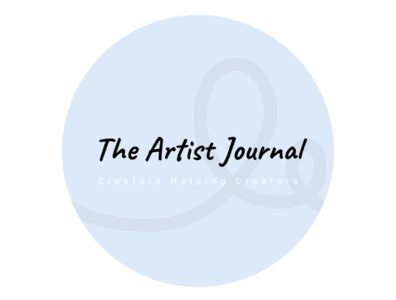 The Artist Journal Text Logo