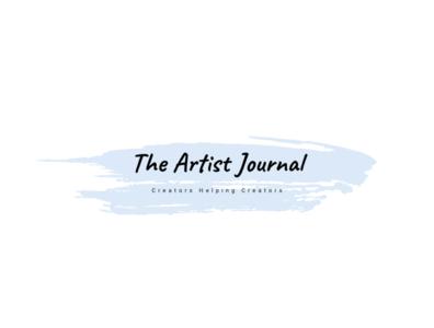 The Artist Journal Text Banner
