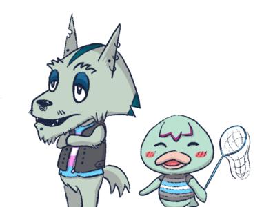 Animal Crossing Islander OCs [colour]