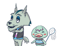 Animal Crossing Islander OCs [colour]