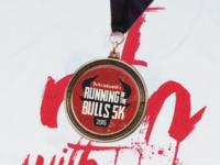Running of the Bulls 5K Medal
