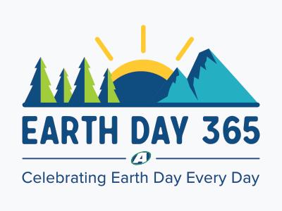 Earthday365 Logo earth day logo