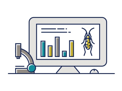Aspire Technology Illustration technology science icon illustration