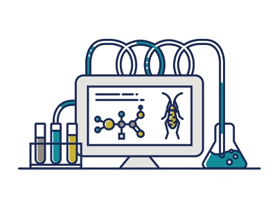 Aspire Technology Illustration (Reject) technology science icon illustration