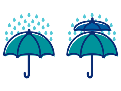 Insurance / Reinsurance Icons rain umbrella icons reinsurance insurance