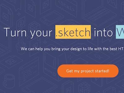 Our new website is live! new website flat design pixel2html