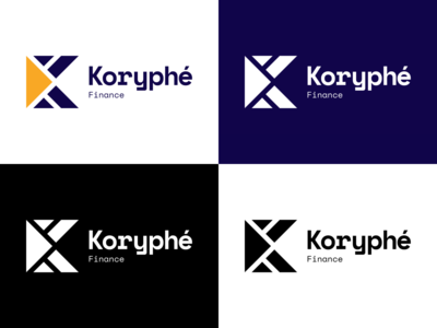 Koryphé Finance - Logotypes