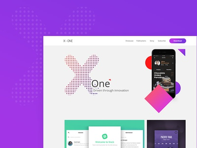 X - One App Developers Website