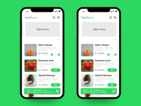 Lumbung App Buy & Add Quantity Screen
