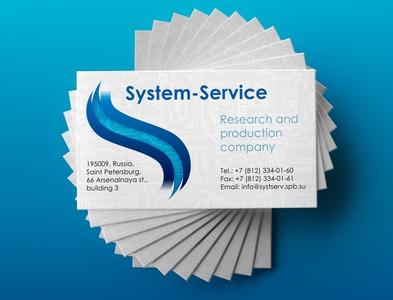 System-Service identity design branding design logo design service system icon vector branding logo mockup design concept