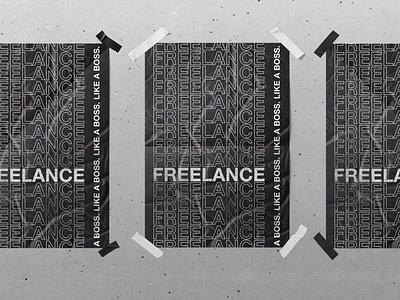 AAF Nashville 2019 Freelance Event Poster nashville typography poster