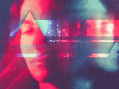 Blog Post Artwork header exploration header illustration glitch noise collage poster article blog header