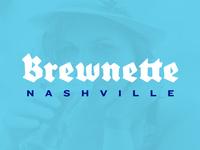 Brewnette Logo Concept