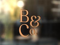 B&Co. Monogram Wip