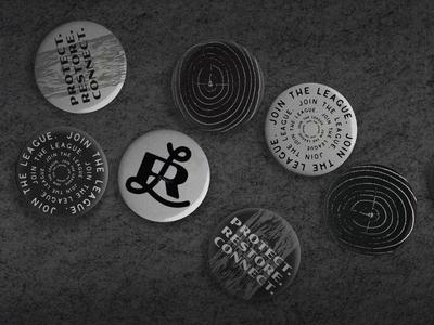Redwoods League Buttons