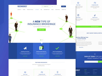 Life Insurance Brokerage Site