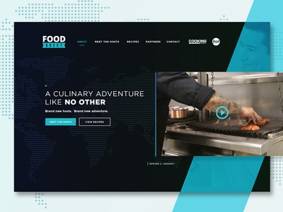 Landing Page // Food Network + Cooking Channel