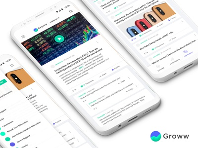 Groww Community Designs (Mobile)