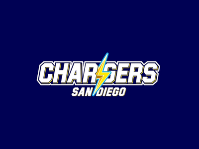 NFL Chargers brand identity reimagined brandidentity graphicdesign