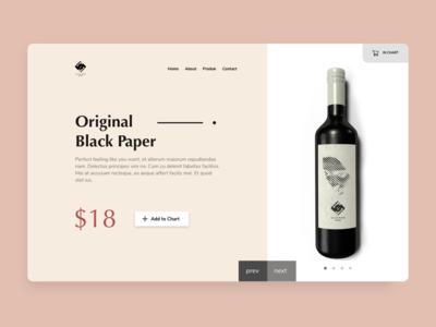Black Paper Wine