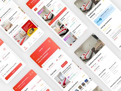 Redesign RedDoorz Mobile App redesignreddoorz redesignapp mobileappdesign mobileapp figmadesign figma uiexploration userinterfacedesign userinterface uiuxdesign uiux