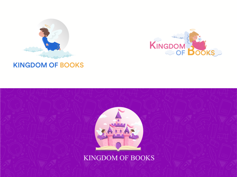 kingdom of books logo