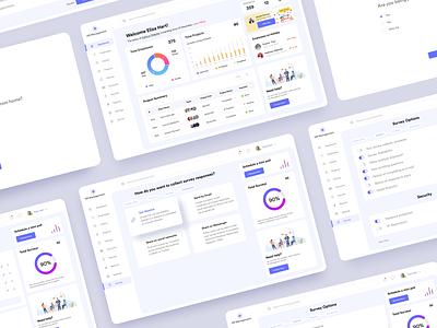 Survey tool ui design ux design