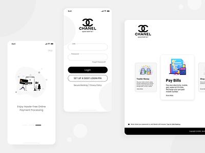 Chanel Post Login Pages design ux ui